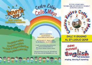 """CENTRO ESTIVO """"CELLO & MAYO"""""""