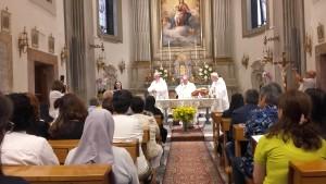 Celebrazione 50°anno di professione religiosa